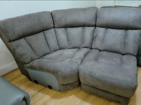 Brand new geniune leather corner sofa part