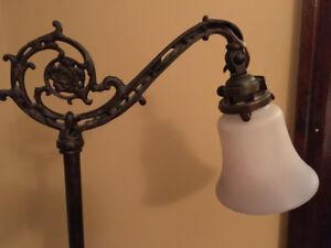 Antique bridge lamp 1920s