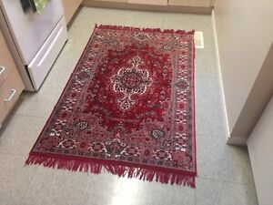 ** PRETTY RED RUGS - must go **