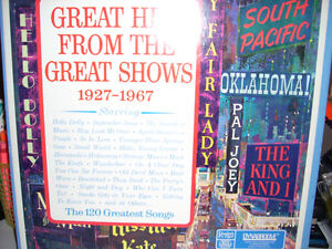 Albums,Great Hits From The Great Shows (1927-1967)