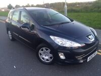 2010 Peugeot 308 1.6 HDI s Sw estate # cheap tax & Insurance model # upto 65 mpg !