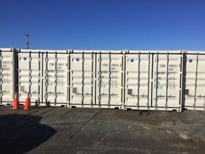 Like new 20' and 40' shipping containers for sale.
