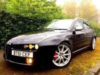 *1 PREV OWNER* 2012 ALFA 159 LUSSO 16V 2.0 TI JTDM 170 BHP BLACK ESTATE