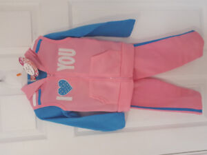 Child's 3 piece track suit size 2T