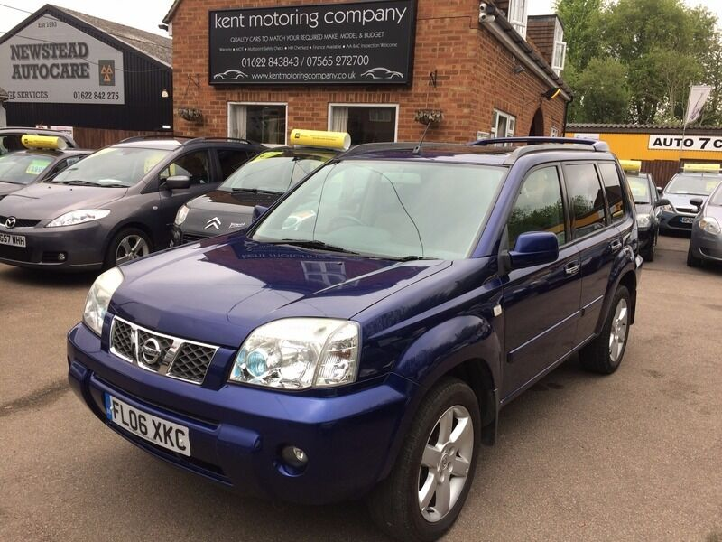 nissan x trail 2 2 dci 136 columbia 4x4 blue 2006 in maidstone kent gumtree. Black Bedroom Furniture Sets. Home Design Ideas