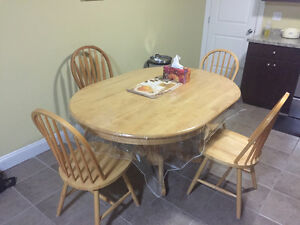 MOVING SALE - DINING TABLE SET