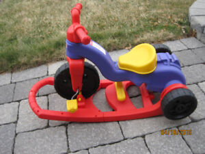 FISHER PRICE TRIKE / ROCKER in EXCELLENT CONDITION