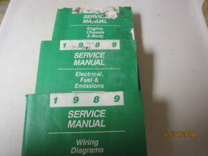 Chrysler 1989 Service Manuals