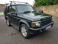 Land Rover Discovery 2.5Td5 (7 seat automatic 2003 ES leather 4x4 may part ex