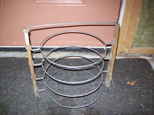 Antique pie cooling rack