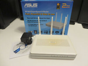 ASUS RT-N16 Wireless N Router 300Mbps w/ Fresh Tomato firmware
