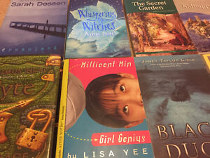 Lots of children's and teen novels