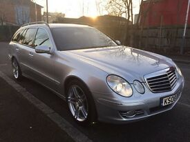 Mercedes e-class W211 E280 cdi SPORT, estate, diesel, family car, kids entertainment, fully loaded.