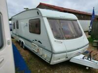 2002 Swift Conqueror 640 Lux 5 Berth Twin Axle Caravan