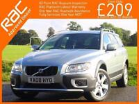 2008 Volvo XC70 3.2 SE Sport 245 PS AWD 4x4 4WD Geartronic 6 Speed Auto Sunroof