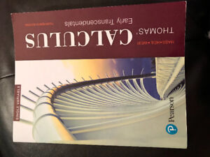 Thomas' Calculus: Early Transcendentals textbook (14th ed)