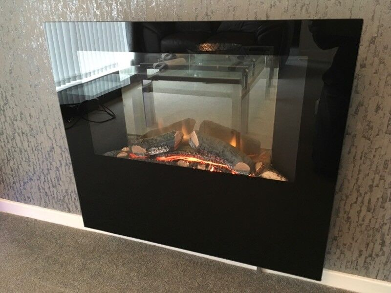 DIMPLEX OBSIDIAN WALL MOUNTED ELECTRIC FIRE