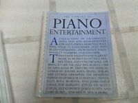 Library of Piano Entertainment Music Book