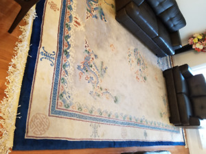 Chinese Silk and Wool Rugs