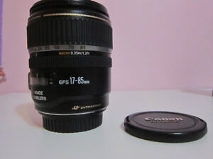 Canon EF-S 17-85mm f/4-5.6 IS USM Zoom Lens