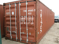 STEEL STORAGE CONTAINERS FOR RENT OR PURCHASE!