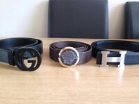 HERMES LOUIS VUITTON GUCCI VERSACE BELTS,BAGS