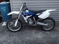 2009 YZ 250 2 stroke with Athena big bore kit
