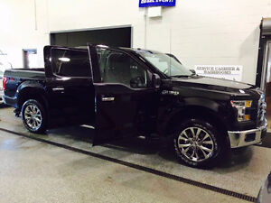 2016 Ford F-150 SuperCrew Black Pickup Truck