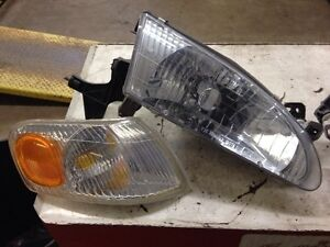 Corolla headlight and side marker light