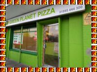 GREEN PLANET PIZZA FOR SALE