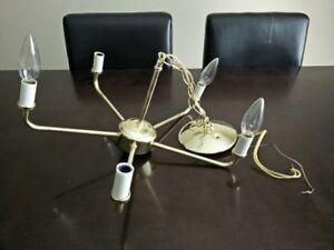 Candle Chandelier - Table Lamp - $35 for both!!