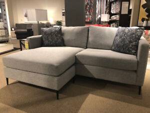 Alec Small Sectional  - Canadian Made - SALE