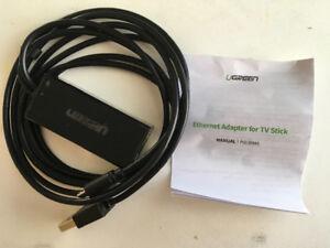Ethernet Adapter for Streaming Sticks