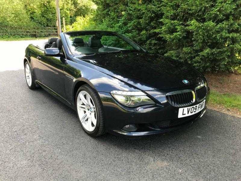 2009 BMW 635D EDITION SPORT 3.0 TURBO DIESEL AUTOMATIC CONVERTIBLE