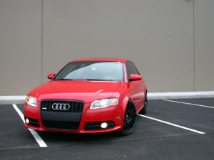 Want an Audi A4 AWD Red Manual 6 Speed