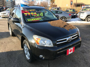 2007 Toyota RAV4 LIMITED 4WD SUV... MINT COND..2 SETS OF WHEELS