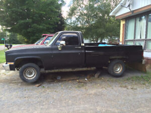 1984 and 1986 square body's for sale complete