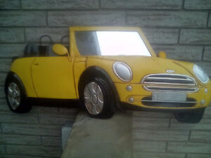 Austin Mini Decorative Wall Hanger Picture.