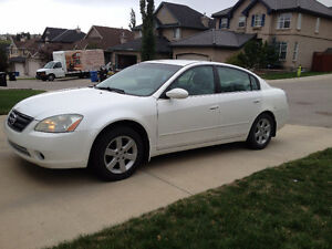 2003 Nissan Altima 2.5S with Remote Start - Well Maintained
