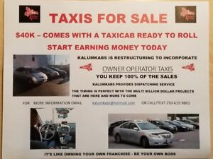 Taxis For Sale