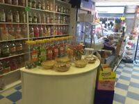 Sweet shop and dessert shop