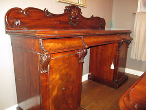 ANTIQUE MAHOGANY SIDEBOARD Kitchener / Waterloo Kitchener Area image 1
