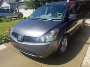 2006 Nissan quest special edition