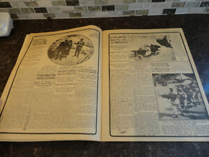 Reproduction of a Vintage History In Headlines of King Tut Book Kitchener / Waterloo Kitchener Area image 3