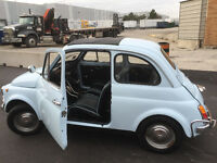 ***JUST ARRIVED FROM ITALY, 1972 FIAT 500 BERLINA***