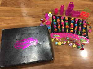 Shopkins & mystery exclusive box set/62+3