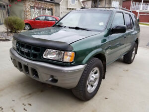 2001 Isuzu Rodeo SUV, Crossover Sell or Trade for commuter car