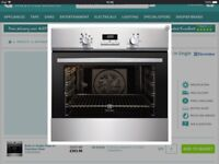 New Electrolux Oven and Electrolux Electric Hob