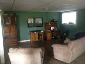 Spacious Basement suite on acreage room two horses