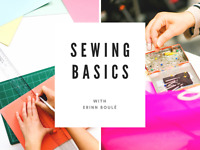 Sewing Basics (June 3rd – July 8th)